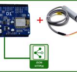 Dùng ESP8266 gửi dữ liệu cảm biến AM2315 qua giao thức HTTPS với data kiểu Json