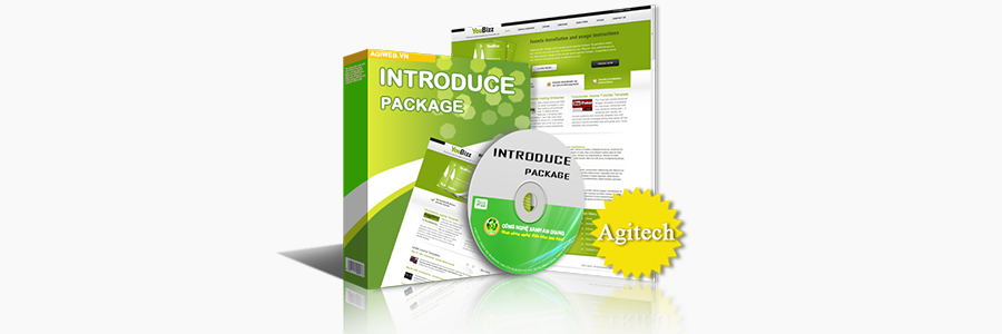 Web giới thiệu - Agitech framework