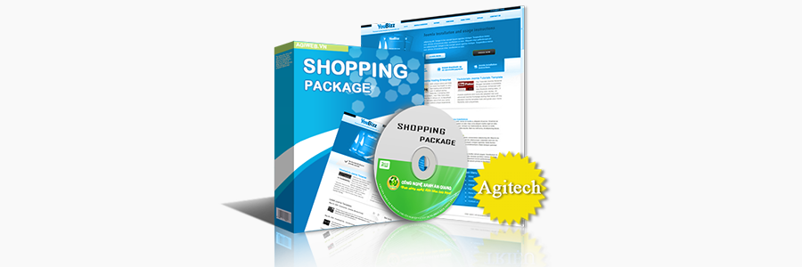 Web bán hàng - Agitech framework
